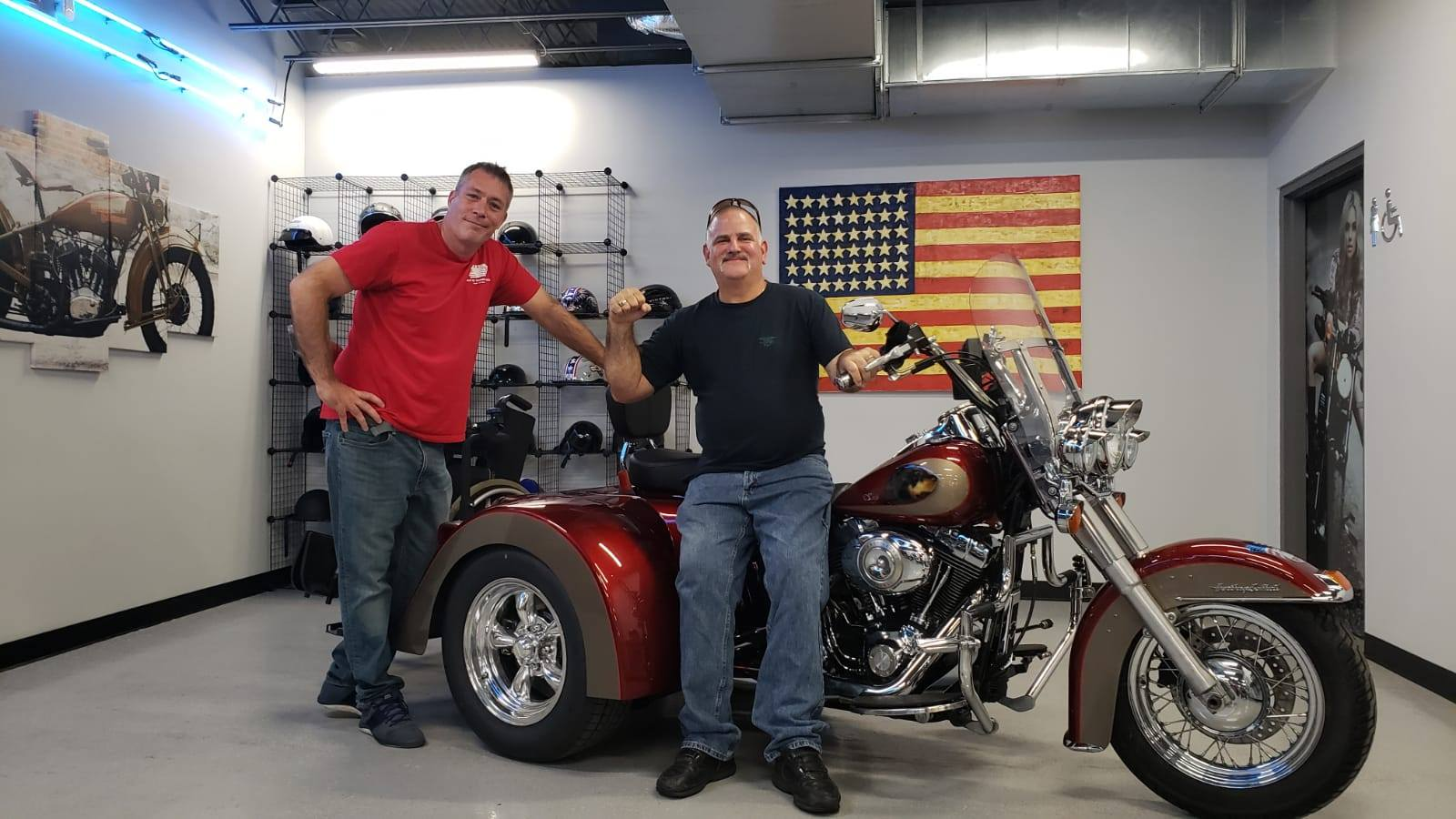 Jim Schombs at Haus of Trikes & Bikes