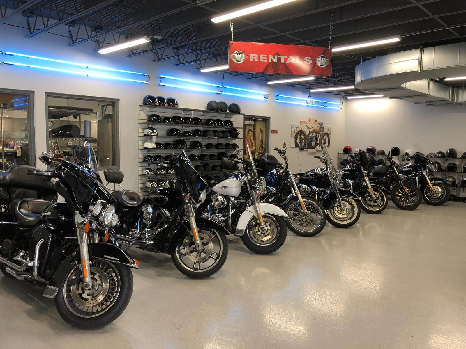 Haus of Trikes and Bikes Showroom